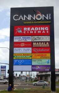 Signs Townsville - Illuminated Cannon Park Sign
