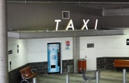 Stockland Taxi Sign