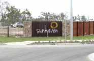 Stockland Northshore Sunheaven Entry Sign