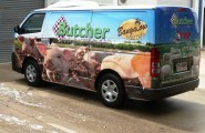 Butcher on Bundock Van Wrap