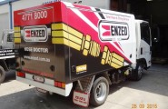 Enzed Townsville Truck Wrap