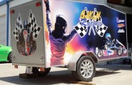 Racing Trailer Wrap
