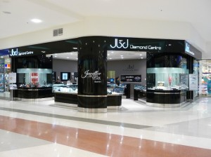 jbd jewellery Shop Fitout
