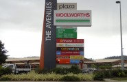 The Avenues Townsville Pylon Sign