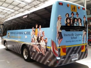 Grammar School Bus Wrap